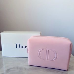 New DIOR ballerina pink cosmetic pouch